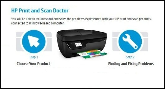 HP Printer and Scan Doctor tool
