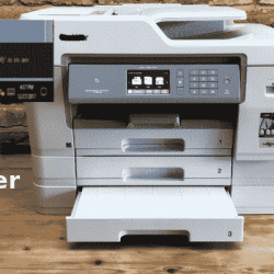 Brother printer in error state