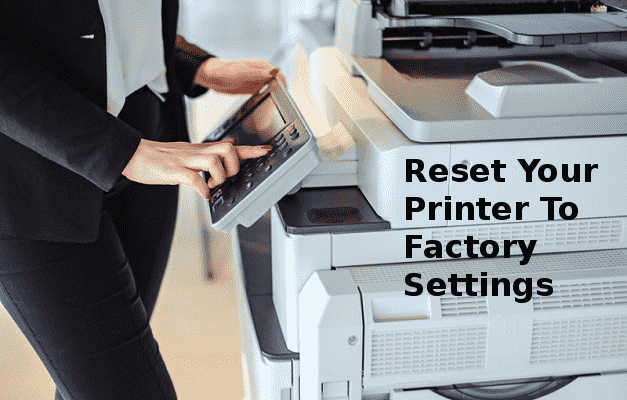 printer says out of paper