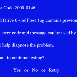 fix dell error code 2000 0146